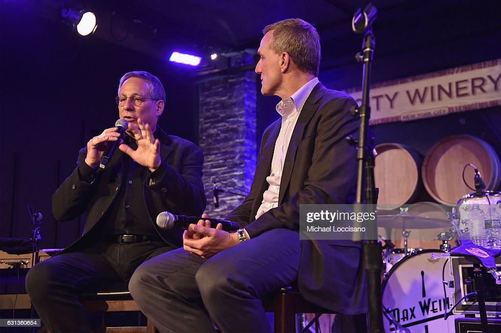 Musician Max Weinberg and General Manager JPMorgan Chase Card