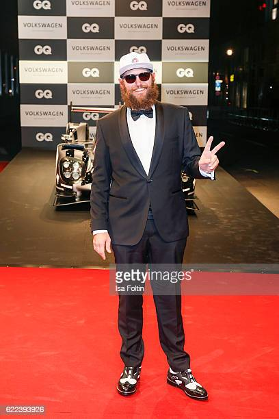 Musician MC Fitti attend the GQ Men of the year Award 2016 at Komische Oper on November 10 2016 in Berlin Germany