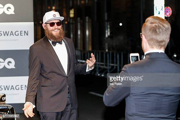 Musician MC Fitti attends the GQ Men of the year Award 2016 at Komische Oper on November 10 2016 in Berlin Germany
