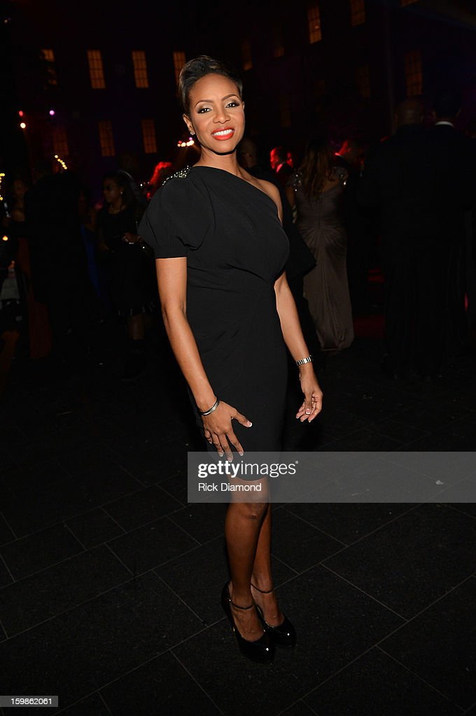 Musician MC Lyte attends the Inaugural Ball hosted by BET Networks at Smithsonian American Art Museum & National Portrait Gallery on January 21, 2013 in Washington, DC.