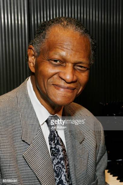 Musician McCoy Tyner attends The Recording Academy New York Chapter presentation of Duke Jazz Talks at Bruno Walter Auditorium on October 29 2008 in...