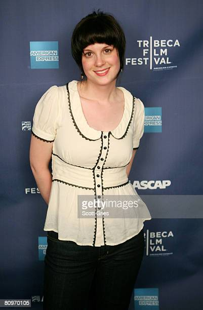 Musician Meaghan Smith poses at the Tribeca ASCAP Music Lounge held at the Canal Room during the 2008 Tribeca Film Festival on May 2 2008 in New York...