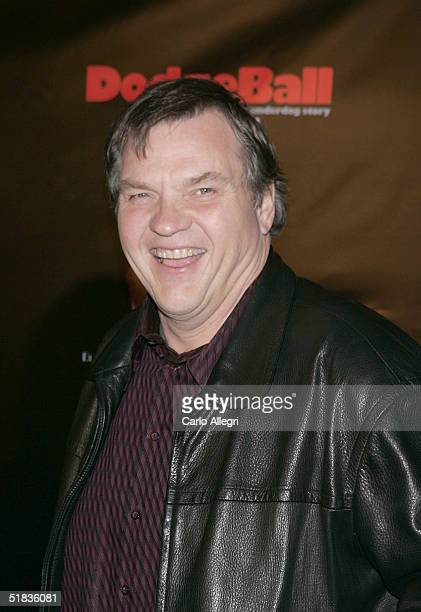 Musician Meatloaf attends Dodgeball The Celebrity Tournament to benefit the Elizabeth Glaser Pediatric Aids Foundation and celebrate the DVD Release...