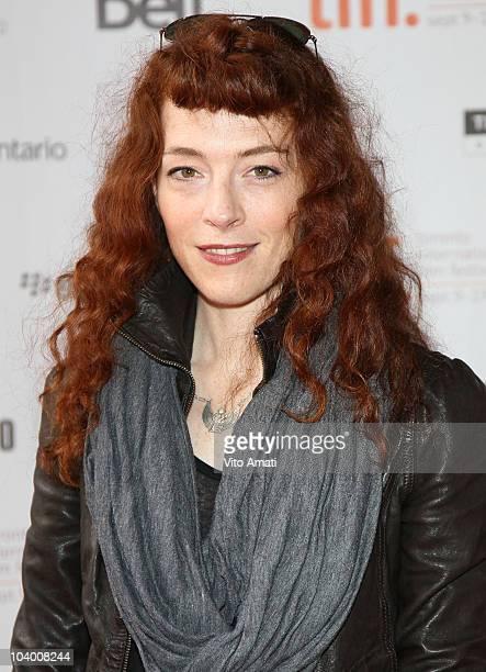 Musician Melissa Auf der Maur attends the Force Of Nature The David Suzuki Movie Premiere held at the Ryerson Theatre during the 35th Toronto...