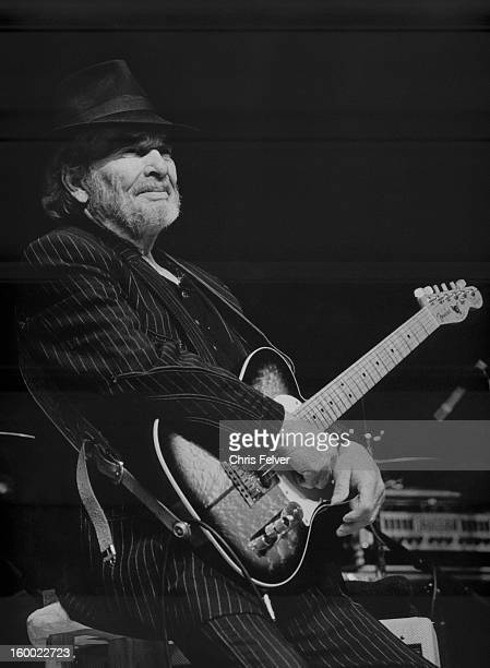 Musician Merle Haggard performs on stage Napa California 2010