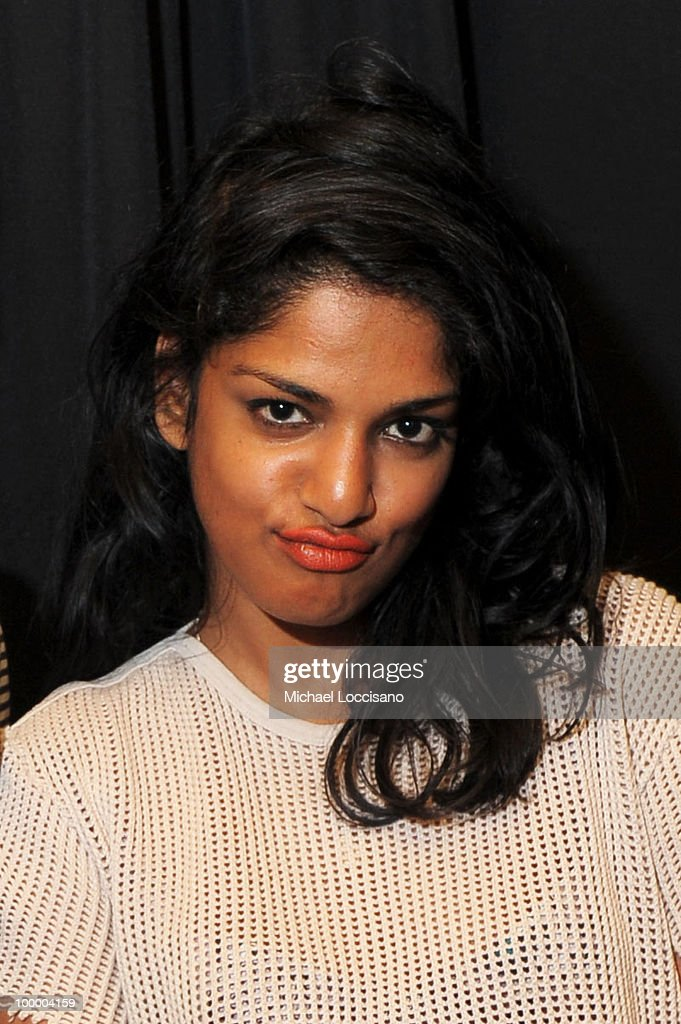 Musician M.I.A. attends the Adult Swim Upfront 2010 at Gotham Hall on May 19, 2010 in New York City. 19913_001_0166.JPG