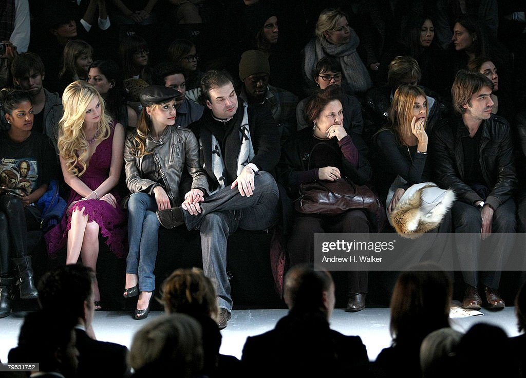 Diesel - Front Row - Fall 08 MBFW : News Photo