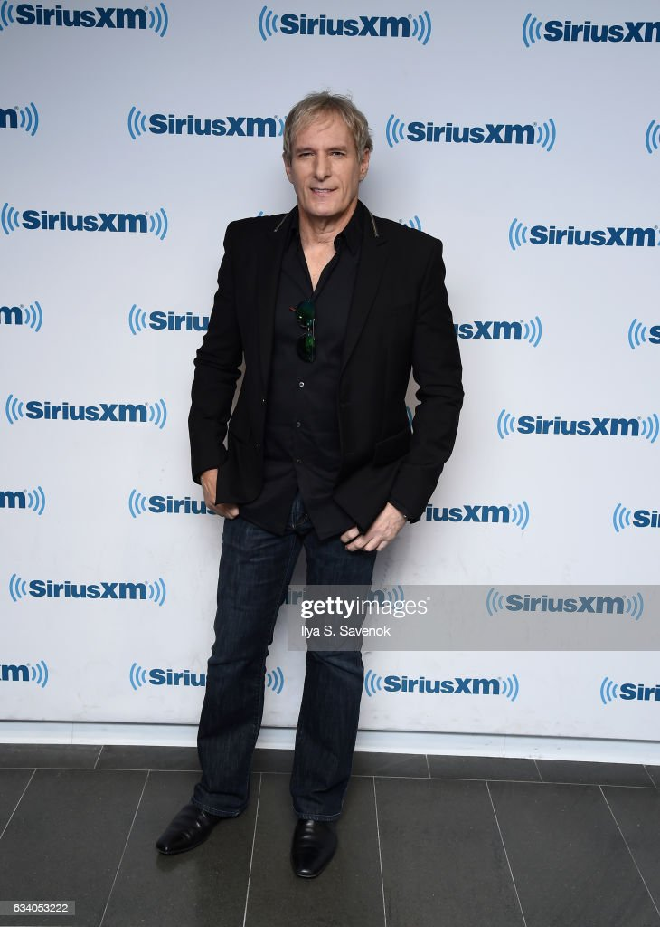 Musician Michael Bolton visits the SiriusXM Studio on February 6, 2017 in New York City.