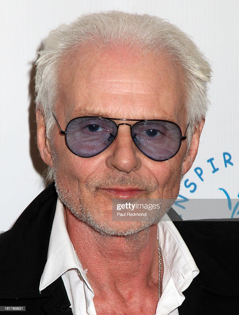 Musician Michael Des Barres arrives at Writers In Treatment's 4th Annual Experience, Strength And Hope Awards at Skirball Cultural Center on February 15, 2013 in Los Angeles, California.