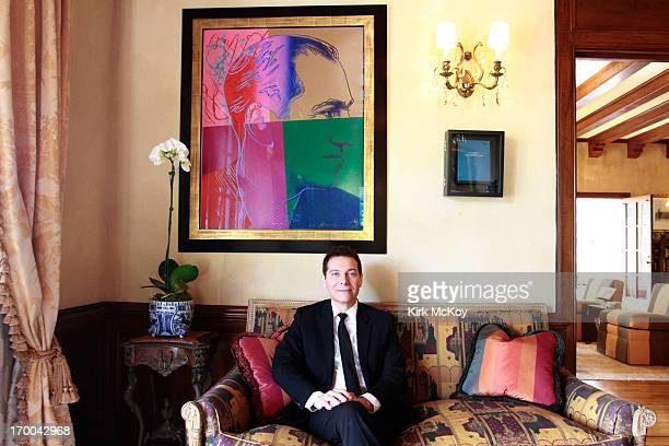 Musician Michael Feinstein is photographed for Los Angeles Times on March 4, 2013 in Los Angeles, California. PUBLISHED IMAGE. CREDIT MUST BE: Kirk...