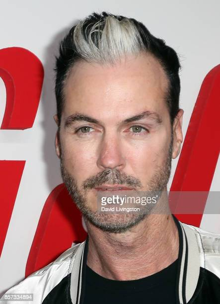 Musician Michael Fitzpatrick of Fitz and the Tantrums attends the grand opening of Westfield Century City at Westfield Century City on October 3 2017...