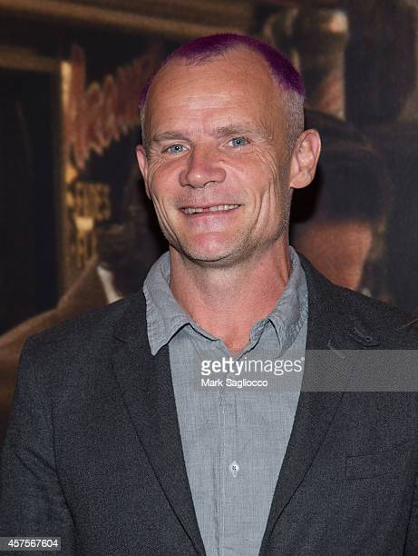Musician Michael Flea Balzary attends the Low Down New York Premiere at the Sunshine Landmark Cinema on October 20 2014 in New York City