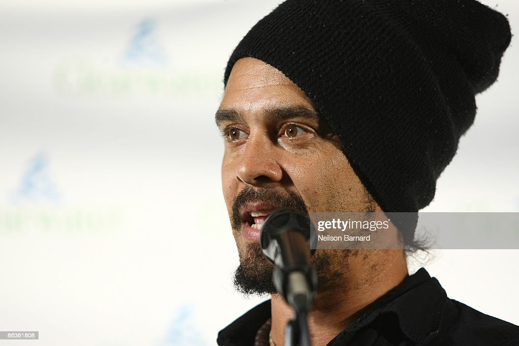 Musician Michael Franti attends the Clearwater Benefit Concert celebrating Pete Seeger's 90th Birthday at Madison Square Garden on May 3, 2009 in New York City.
