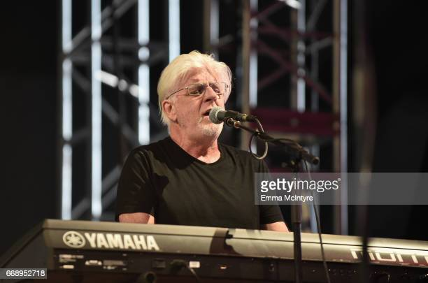 Musician Michael McDonald performs with Thundercat at the Mojave Tent during day 2 of the Coachella Valley Music And Arts Festival at the Empire Polo...