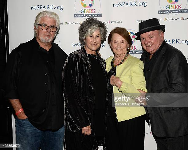 Musician Michael McDonald weSpark Clinical Coordinator Stephanie McGee weSpark Founding Trustee Charlene Sperber and actor Jack McGee attend the...
