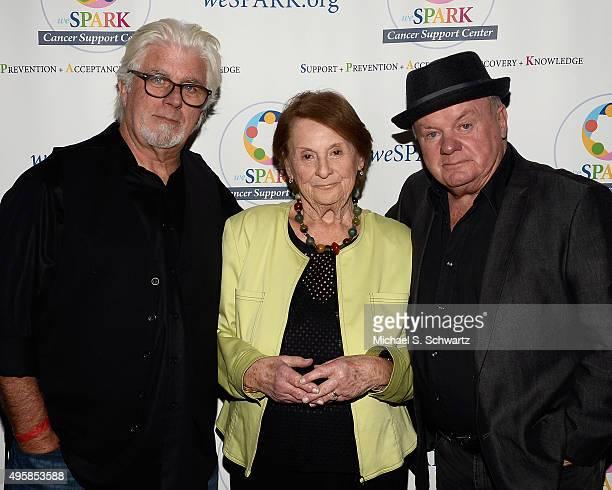 Musician Michael McDonald weSpark Founding Trustee Charlene Sperber and actor Jack McGee attend the weSpark Cancer Support Center Benefit Concert 'An...