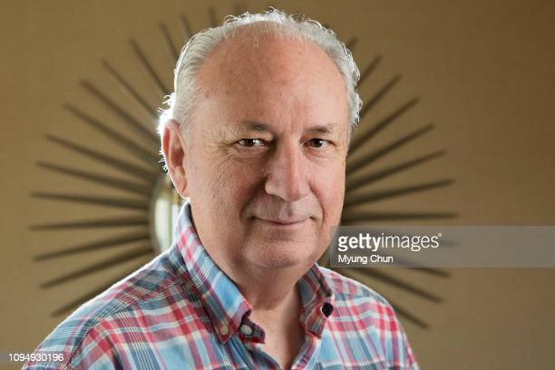 Musician Michael Nesmith is photographed for Los Angeles Times on March 16 2016 in Burbank California PUBLISHED IMAGE CREDIT MUST READ Myung J...