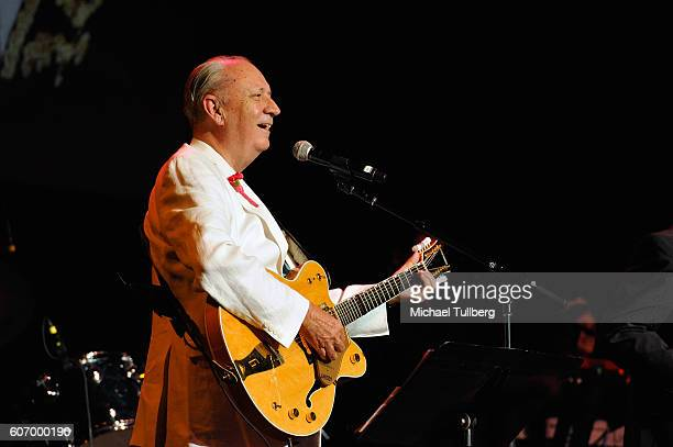 Musician Michael Nesmith of The Monkees performs at the Pantages Theatre on September 16 2016 in Hollywood California