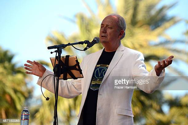 Musician Michael Nesmith performs onstage during day 3 of 2014 Stagecoach California's Country Music Festival at the Empire Polo Club on April 27...