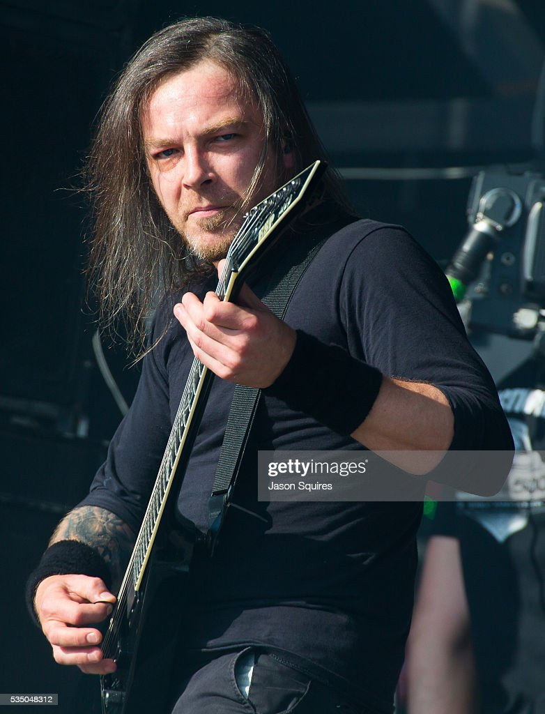 Musician Michael Paget Of Bullet For My Valentine Performs At Catch The  Fever Festival Grounds On