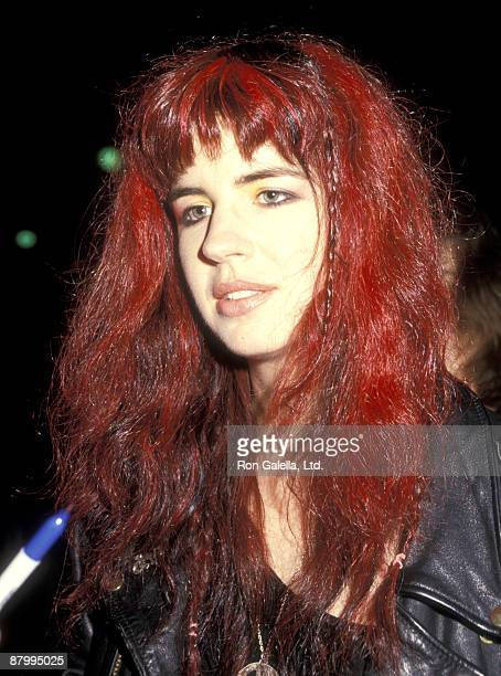 Musician Michael Steele of The Bangles attends the 'Chuck Berry Hail Hail Rock 'n' Roll' Century City Premiere on October 8 1987 at AMC Century 14...