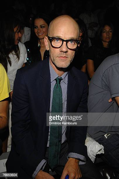 Musician Michael Stipe at Marc Jacobs Spring 2008 during MercedesBenz Fashion Week at the New York State Armory on September 10 2007 in New York City
