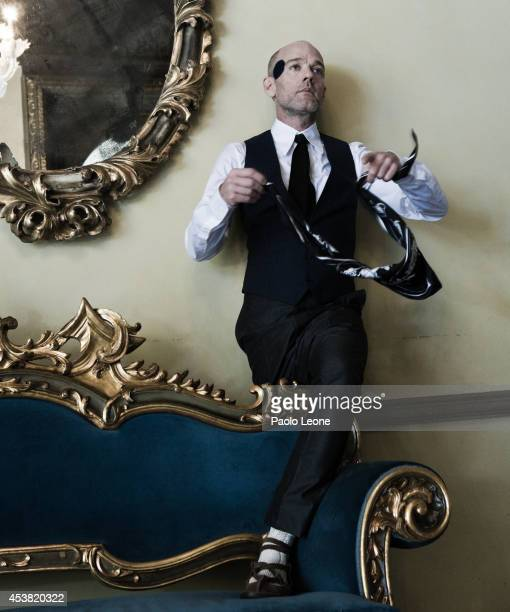 Musician Michael Stipe is photographed for Self Assignment on October 29 2007 in Rome Italy