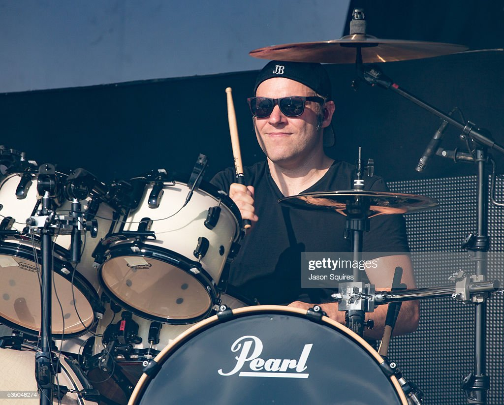 Musician Michael Thomas Of Bullet For My Valentine Performs At Catch The  Fever Festival Grounds On