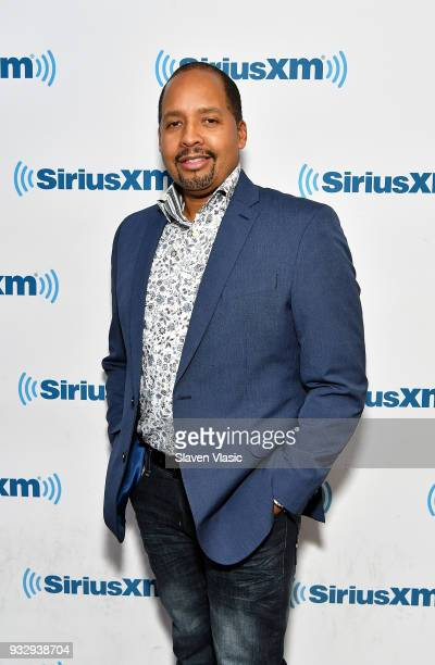 Musician Michael White visits SiriusXM Studios on March 16 2018 in New York City