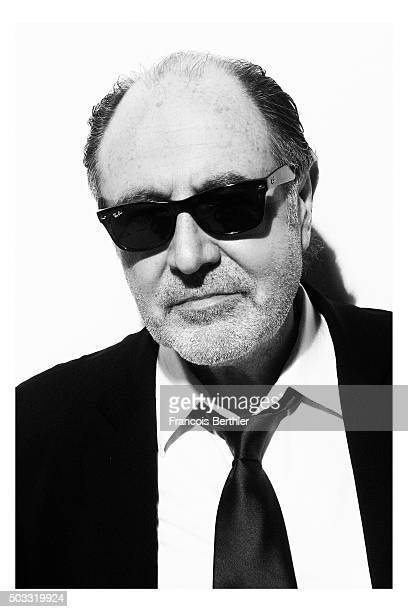 Musician Michel Delpech is photographed for Self Assignment on July 23 2009 in Paris France