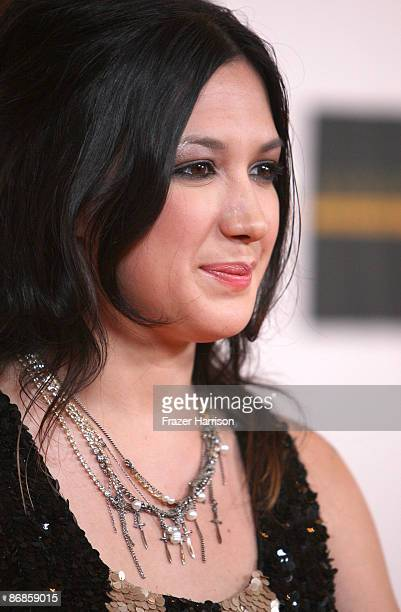 Musician Michelle Branch arrives at the 16th Annual Race to Erase MS event themed Rock To Erase MS cochaired by Nancy Davis and Tommy Hilfiger at the...