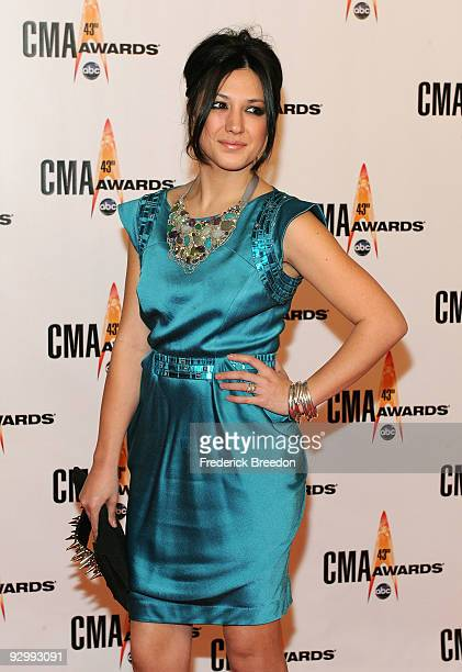 Musician Michelle Branch attends the 43rd Annual CMA Awards at the Sommet Center on November 11, 2009 in Nashville, Tennessee.