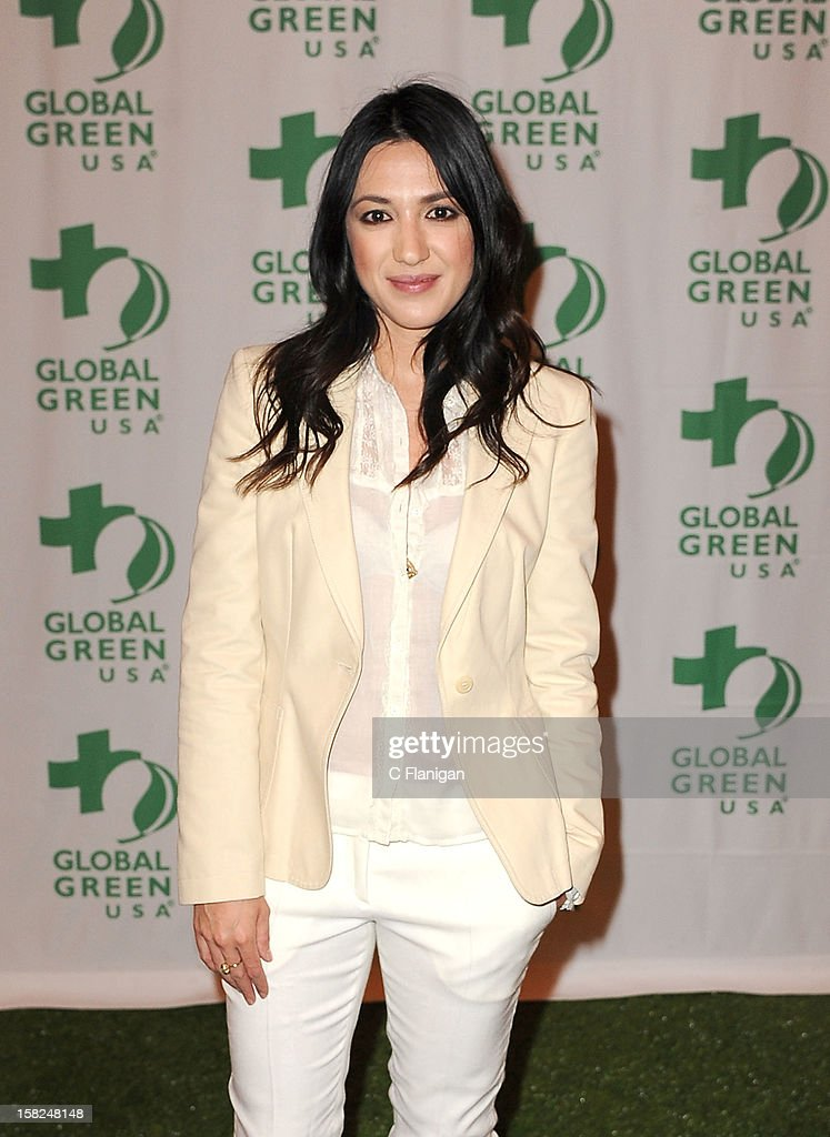 Musician Michelle Branch poses backstage during the Global Green Gorgeous & Green Gala at The Bently Reserve on December 11, 2012 in San Francisco, California.