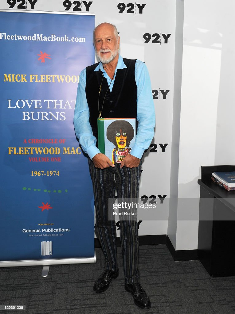Musician Mick Fleetwood attends the 92nd Street Y Presents Mick Fleetwood at 92nd Street Y on August 1, 2017 in New York City.