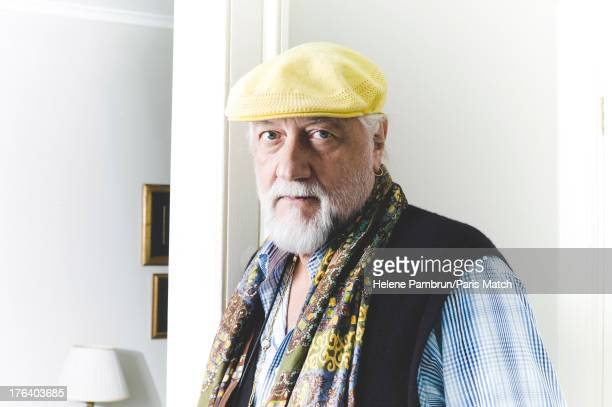Musician Mick Fleetwood is photographed for Paris Match on January 31 2013 in London England