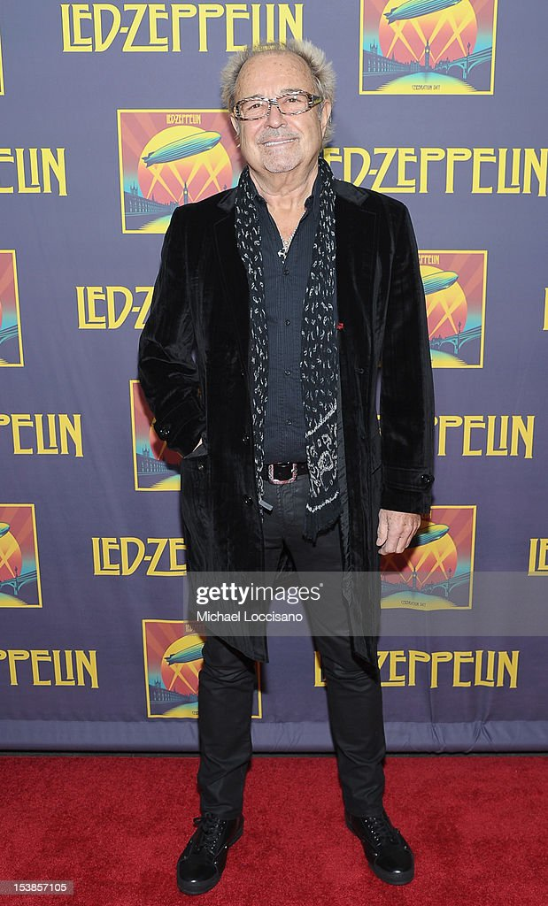 Musician Mick Jones attends the 'Led Zeppelin: Celebration Day' premiere at the Ziegfeld Theater on October 9, 2012 in New York City.