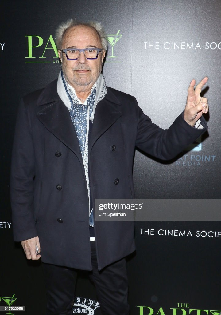 Musician Mick Jones attends the screening of 'The Party' hosted by Roadside Attractions and Great Point Media with The Cinema Society at Metrograph on February 12, 2018 in New York City.