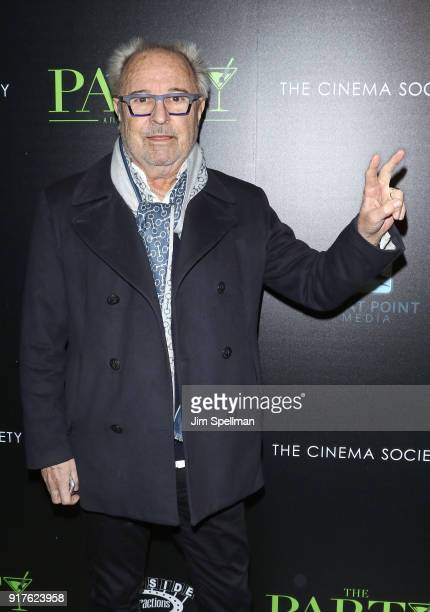 Musician Mick Jones attends the screening of The Party hosted by Roadside Attractions and Great Point Media with The Cinema Society at Metrograph on...