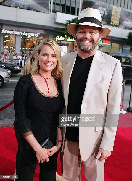 Musician Mickey Dolenz and his daughter Ami Dolenz arrive at the premiere of DreamWorks Picture's Just Like Heaven at the Chinese Theater on...