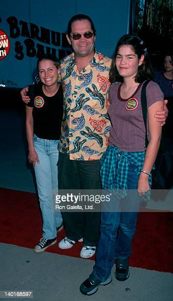 Musician Mickey Dolenz daughter Emily Dolenz and actress Ami Dolenz attending 129th Annual Edition of Ringling Brother Barnum Bailey Circus on July...