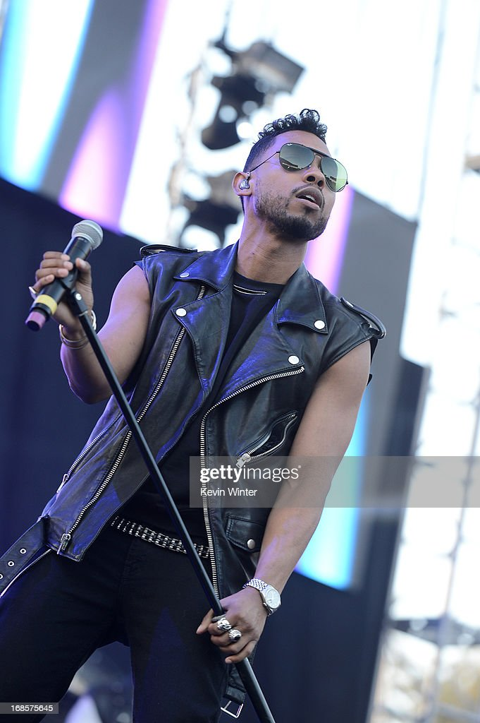 Musician Miguel performs at 102.7 KIIS FM's Wango Tango 2013 held at The Home Depot Center on May 11, 2013 in Carson, California.