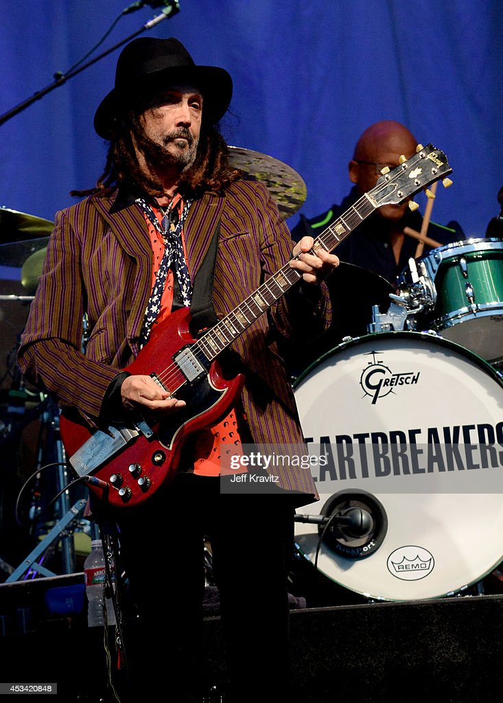 Musician Mike Campbell of Tom Petty & The Heartbreakers performs at the Lands End Stage during day 2 of the 2014 Outside Lands Music and Arts Festival at Golden Gate Park on August 9, 2014 in San Francisco, California.
