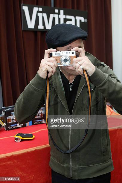 Musician Mike Dirnt of the music group Green Day attends the 52nd Annual GRAMMY Awards GRAMMY Gift Lounge Day 2 held at the at Staples Center on...