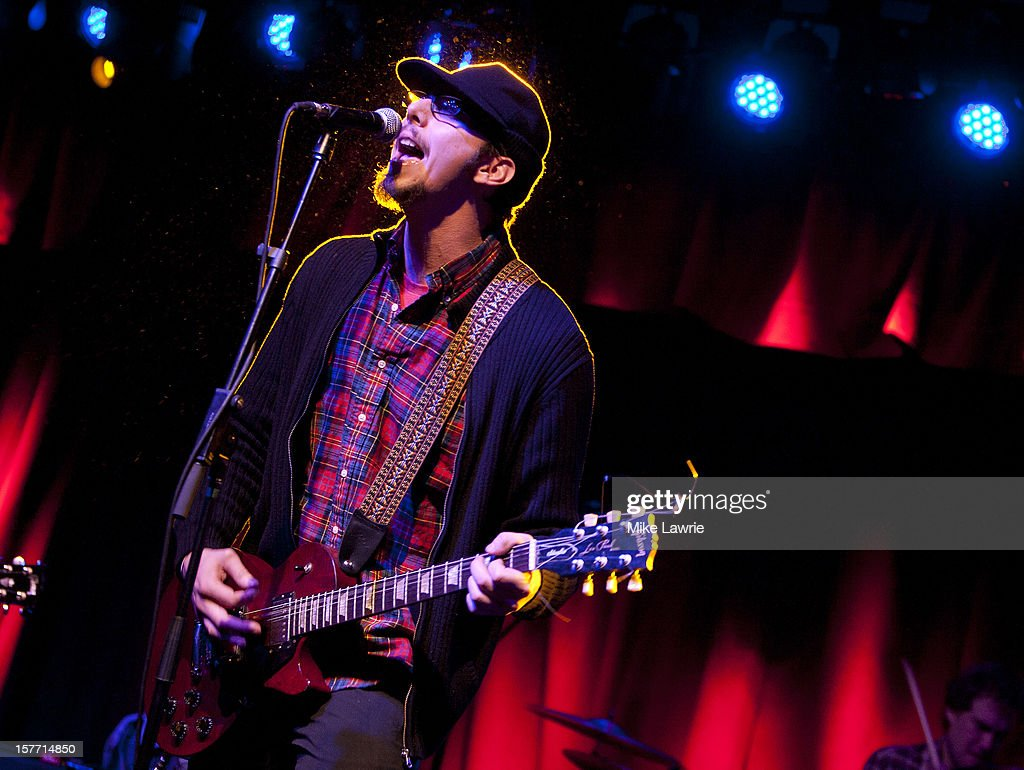 Musician Mike Montali of Hollis Brown performs at Brooklyn Bowl on December 5, 2012 in New York City.