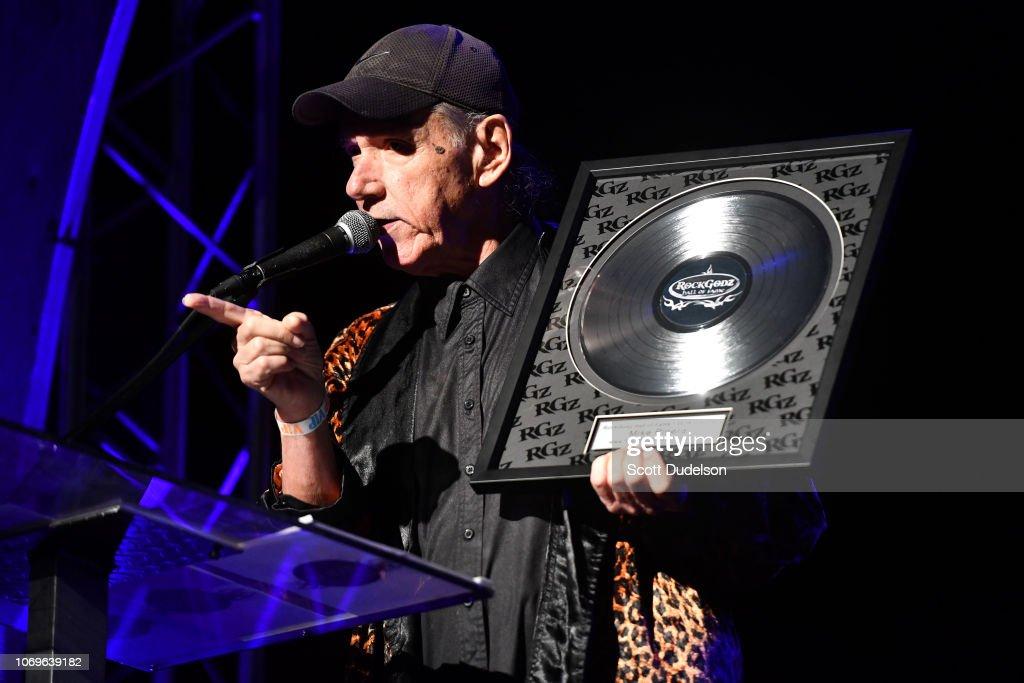 RockGodz Hall Of Fame Awards Show And Benefit Concert : Fotografía de noticias
