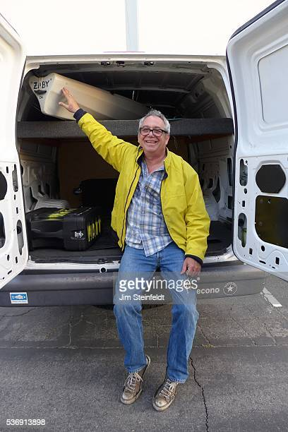 Musician Mike Watt poses for a portrait at Fonogenic Studios in Van Nuys California on May 23 2016