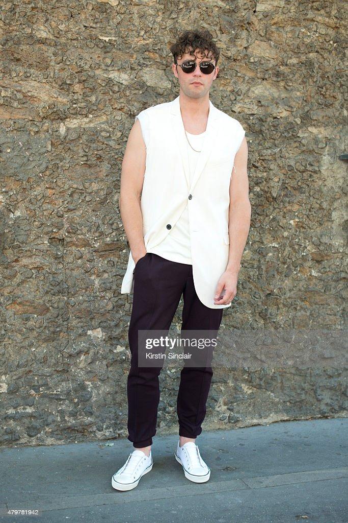 Street Style - Paris Fashion Week - Menswear Spring/Summer 2016 : Day Five