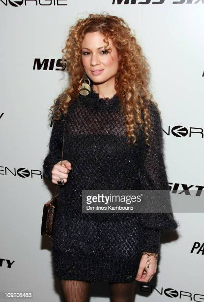 Musician Miri Ben Ari attends the opening of Energie/Miss Sixty's NYC flagship store at 901 Broadway on November 29 2007 in New York City