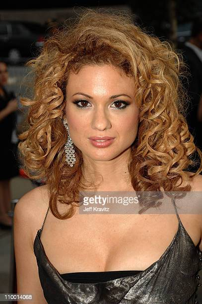 Musician Miri BenAri arrives at VH1's Save The Music 10th Anniversary Gala at The Tent at Lincoln Center on September 20 2007 in New York City