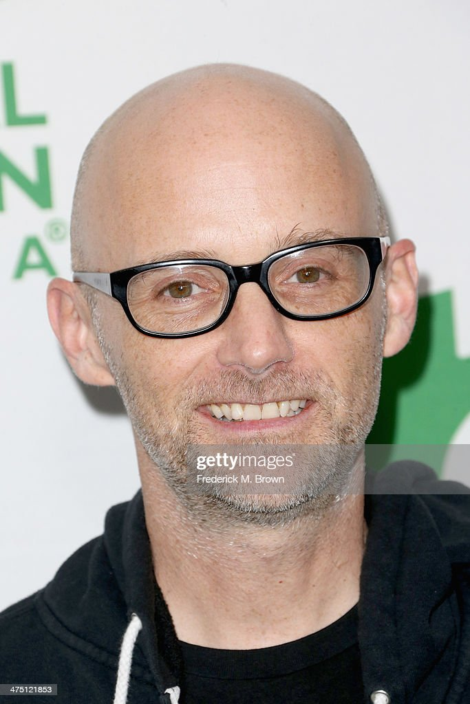 Musician Moby attends Global Green USA's 11th Annual Pre-Oscar party at Avalon on February 26, 2014 in Hollywood, California.